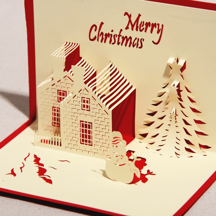 Thiệp handmade là một món quà tặng Giáng sinh độc đáo và ý nghĩa