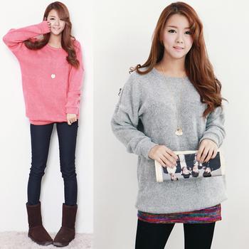Áo len trơn là một xu hướng quần áo mùa đông 2014 hot