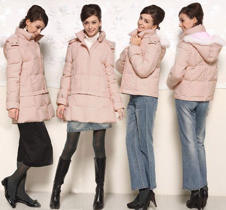 Áo phao sáng màu là một xu hướng quần áo mùa đông 2014 nổi bật