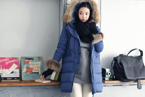 Áo khoác phao là lựa chọn tuyệt vời để giữ ấm cơ thể