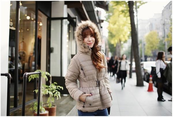 Áo phao ấm áp cho những ngày đông mưa lạnh