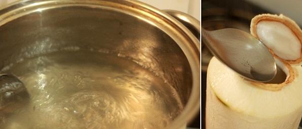 Tự làm thạch rau câu dừa đơn giản tại nhà