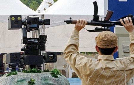Robot lính gác của Hàn Quốc