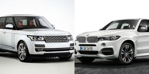 Khi so sánh BMW X5 và Range Rover Sport, cả hai mẫu xe này đều trang bị nội thất tiện dụng và khoa học