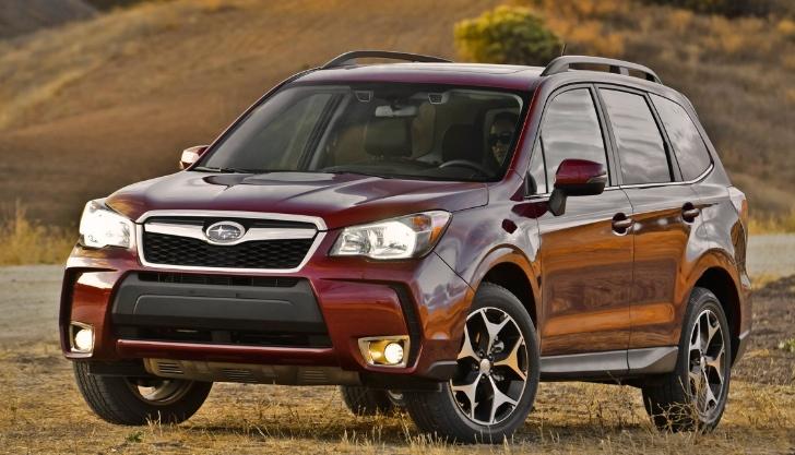 Khi so sánh ô tô Subaru Forester 2015 có nội thất nâng cấp hơn đối thủ