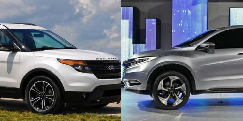 Cả Ford Explorer và Honda Pilot đều trang bị động cơ V6 3.5 lít