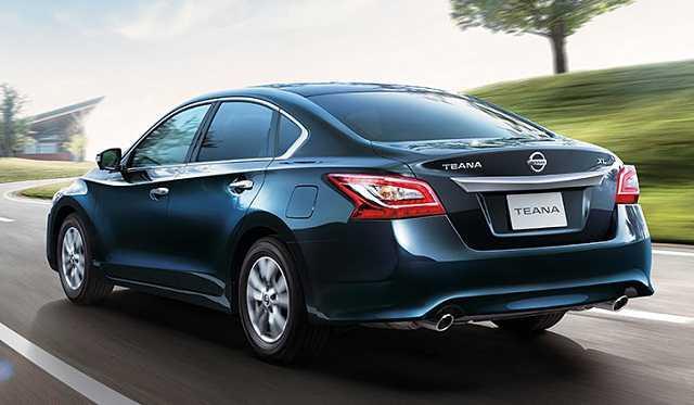Nissan Teana sử dụng lợi thế từ hộp số tự động vô cấp CVT cải tiến