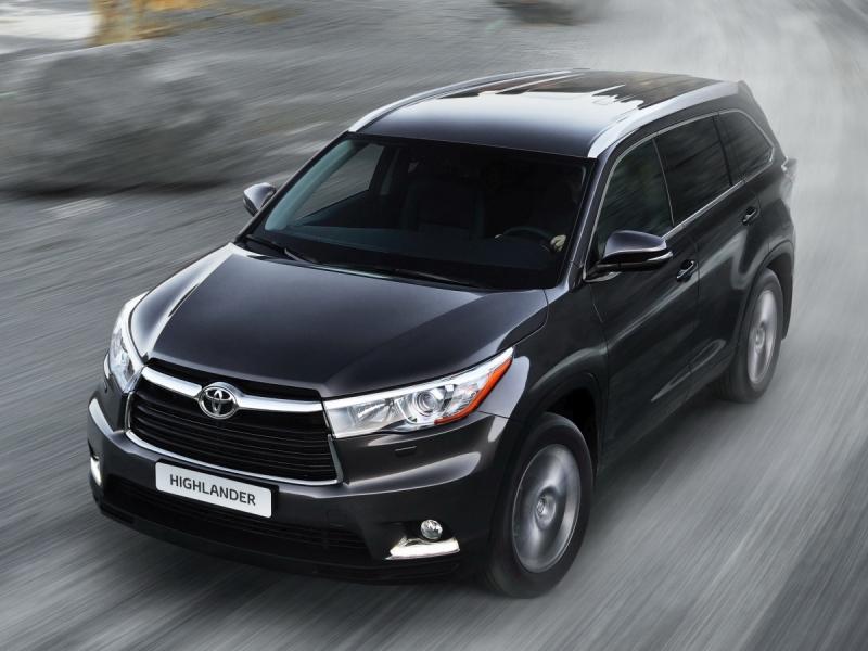 Toyota Highlander 2015 đã được thiết kế mới hoàn toàn