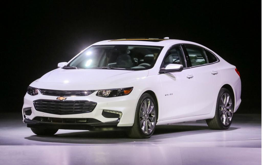 Chevrolet Malibu 2016 thế hệ mới thể hiện sự thanh thoát