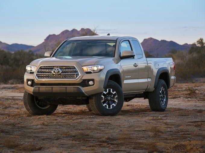 Toyota Tacoma 2016 sở hữu thiết kế mang tính tiến hóa