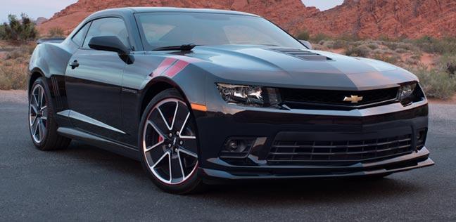 Chevrolet Camaro 2015 có thiết kế đậm chất cơ bắp, nam tính