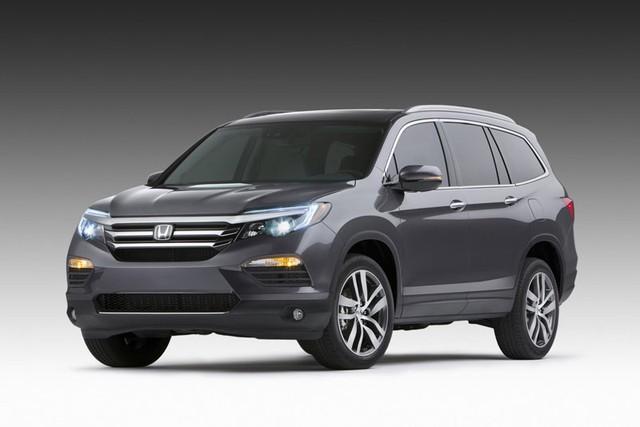 Honda Pilot 2016 có thiết kế sắc nét hơn đối thủ khi so sánh ô tô
