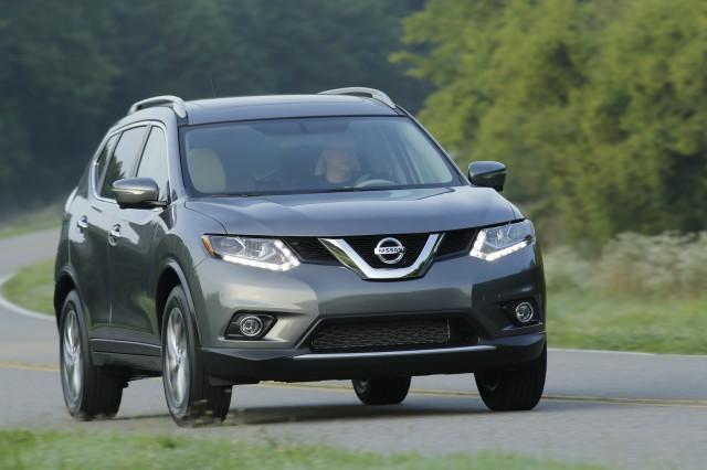 Nissan Rogue đời 2015 này có kiểu dáng sang trọng hơn