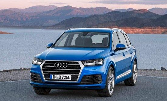 Audi Q7 2015 có thiết kế hoàn toàn mới với những đường thẳng dứt khoát