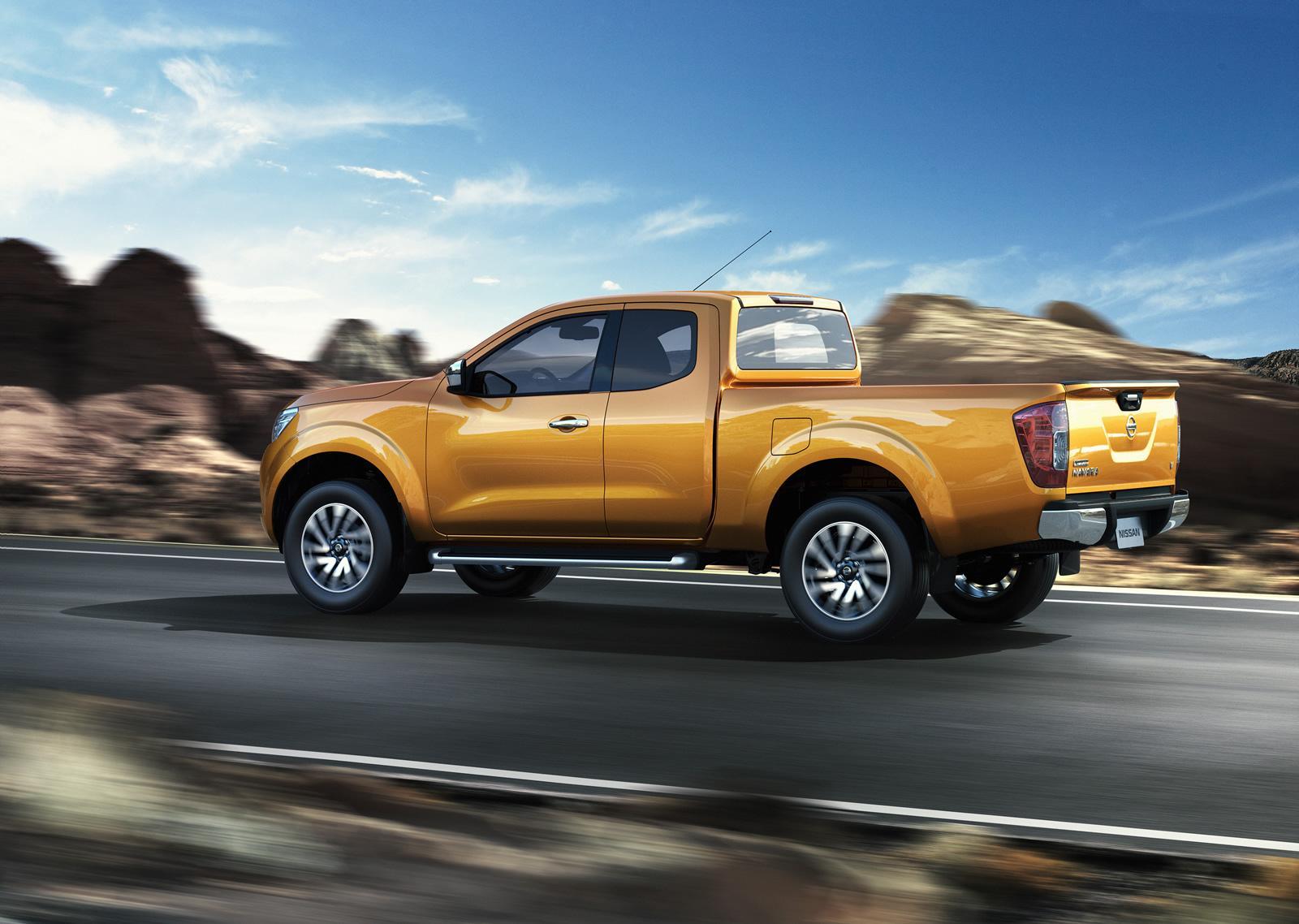 Nissan Navara thế hệ mới được trang bị động cơ diesel 4 xi-lanh