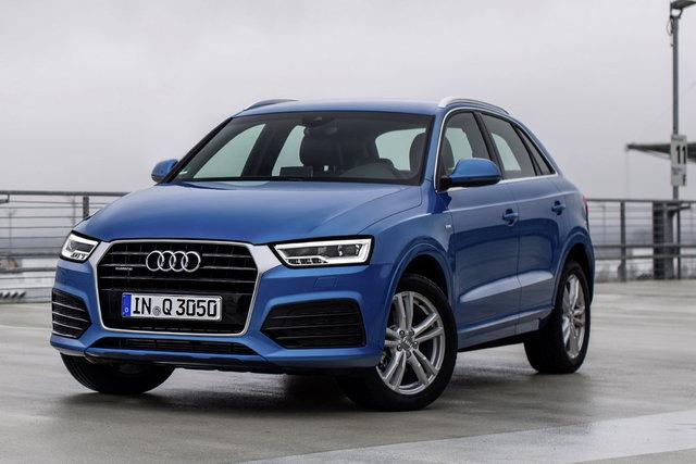 Audi Q3 được tinh chỉnh tối ưu nhất với lưới tản nhiệt khung đơn sắc gọn hơn