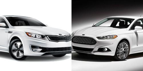Nội thất của Ford Fusion và Optima đều sở hữu một loạt trang bị Tiêu chuẩn