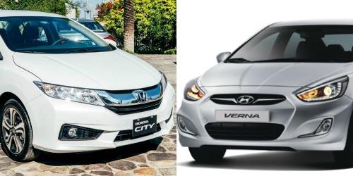 Cả Honda City và Hyundai Verna đều được đánh giá là ông hoàng trong phân khúc về giá cả