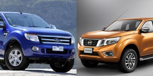 Khi so sánh xe ô tô, Nissan Navar và Ford Ranger xứng đáng là lựa chọn hàng đầu trong phân khúc xe bán tải
