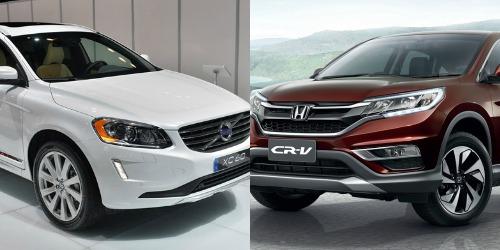 Khi so sánh xe ô tô, cả 2 phiên bản 2014 Honda CRV và Volvo XC60  đều có những cải tiến nhất định