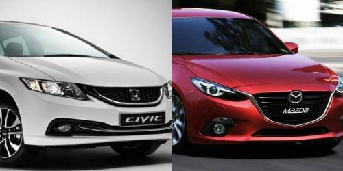 Khi so sánh xe ô tô, cả Honda Civic và Mazda 3 đều có những thay đổi về thiết kế cũng như bổ sung nhiều tiện ích tiên tiến và hữu dụng