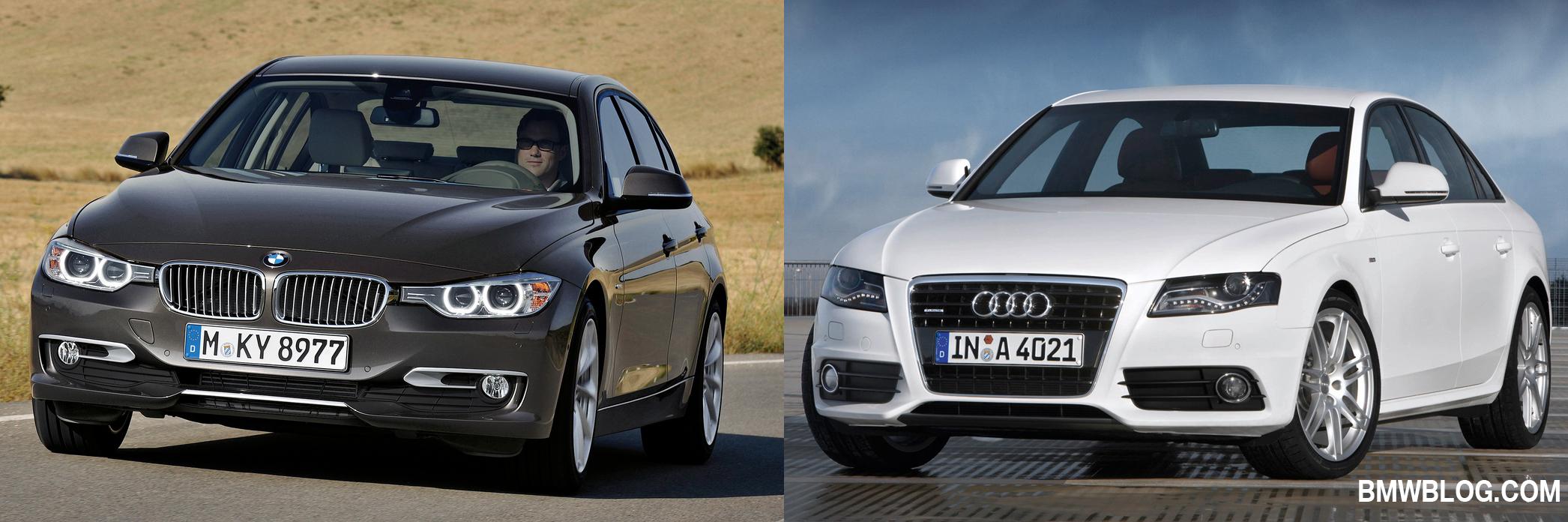 Khi so sánh xe ô tô hạng sang, không thể bỏ qua BMW 3- Series và Audi A4