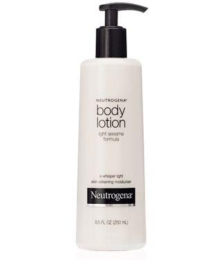 Kem dưỡng trắng da toàn thân Neutrogena chiết xuất từ dầu mè giúp bạn có được làn da mịn màng và mượt mà hơn