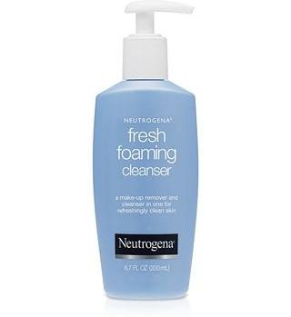 Sữa rửa mặt và tẩy trang dạng tạo bọt Neutrogena fresh foaming cleanser phù hợp cho mọi loại da