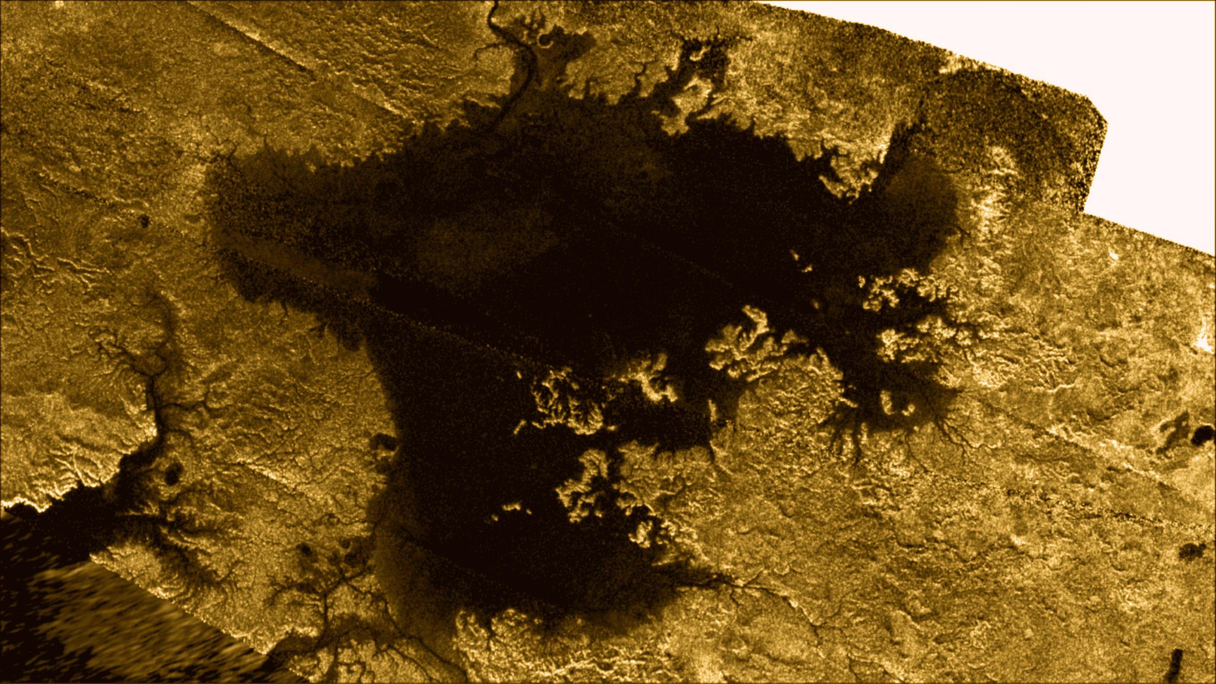 Hồ hydrocarbon trên bề mặt Vệ tinh Titan