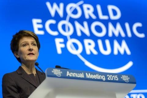 Bà Simonetta Sommaruga – Tổng thống Thụy sĩ phát biểu