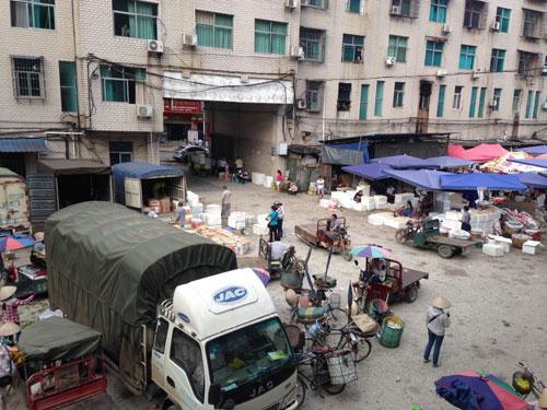 Chợ táo Kim Hà (Hà Khẩu, Trung Quốc)
