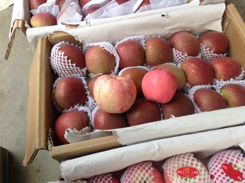 Táo Trung Quốc tại chợ táo Kim Hà