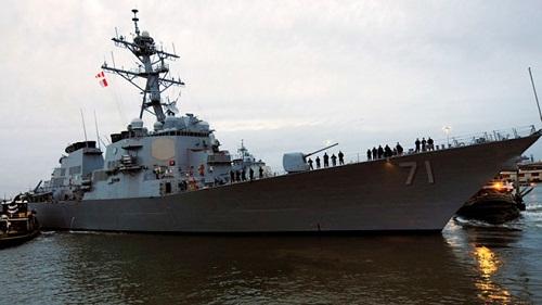 Bốn tàu khu trục tên lửa Mỹ tới châu Âu nhằm đe dọa Nga
