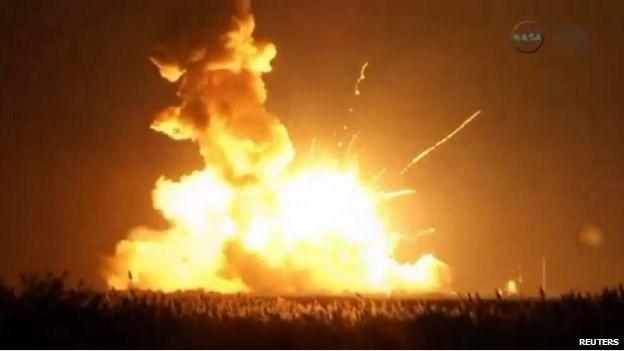 Quả tên lửa phát nổ chỉ sau 6 giây ngay sau khi cất cánh