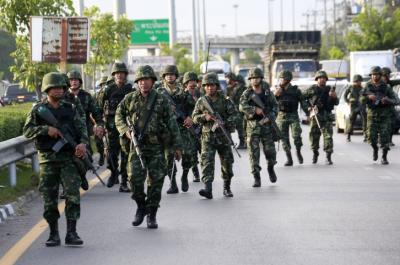 Quân đội Thái Lan tiến hành đảo chính quân sự