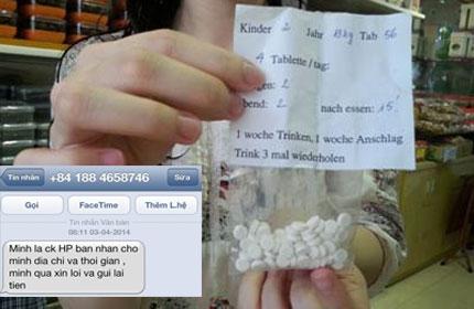 Thuốc tăng cân rao bán trên các trang mạng tiềm ẩn nhiều nguy hại