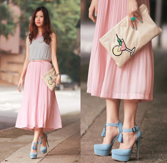 Bạn gái cũng có thể lựa chọn những mẫu váy maxi duyên dáng