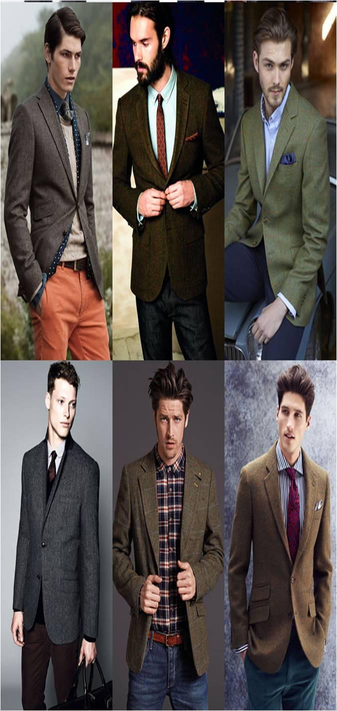Áo blazer là một trong những mẫu thời trang nam thu đông nổi bật. Ảnh minh họa