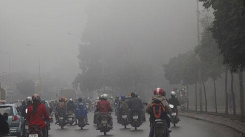 Dự báo thời tiết hôm nay ngày 24/1/2015: Miền Bắc có sương mù, ngày nắng