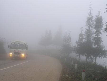 Dự báo thời tiết hôm nay ngày 26/1/2015: Sương mù xuất hiện trên cả nước vào sáng sớm