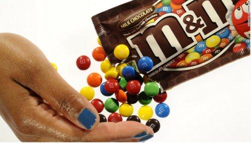 Kẹo sô cô la M&M vốn rất được ưa chuộng trên thế giới và cả ở Việt Nam