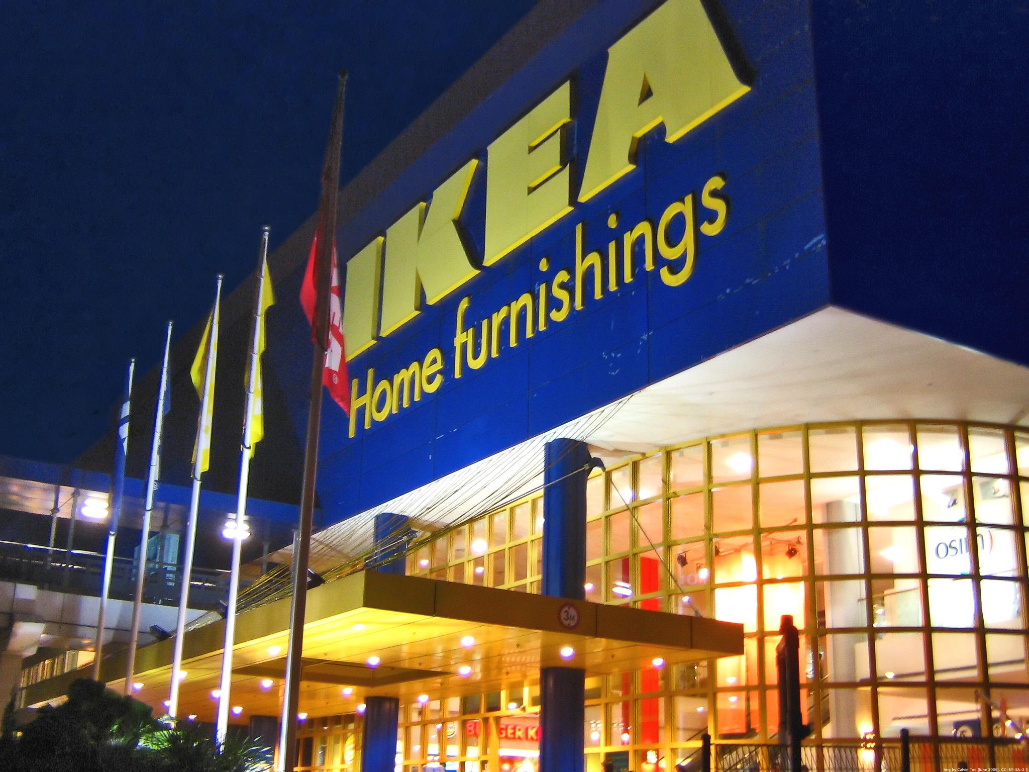 Sản phẩm nội thất và võng trẻ em Ikea vốn rất được ưa chuộng trên thế giới