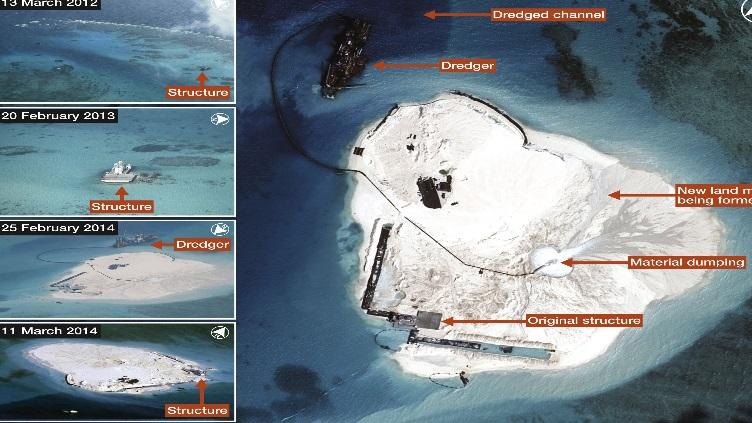Dư luận trong và ngoài nước đang theo dõi sát sao kế hoạch xây đảo nhân tạo ở Biển Đông của Trung Quốc