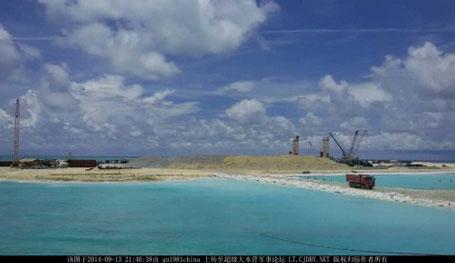 Tình hình Biển Đông ngày 16/9: Trung Quốc tuyên bố biến Đá Châu Viên thành đảo nhân tạo lớn nhất Trường Sa