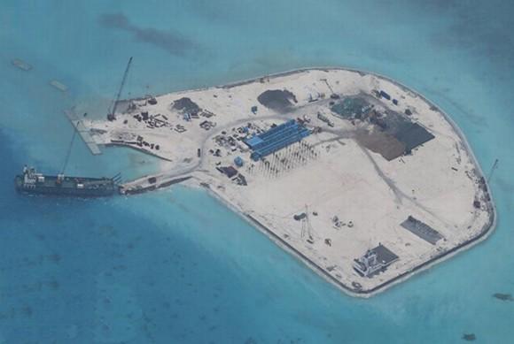 Trung Quốc tăng cường các hoạt động xây dựng trái phép trên Biển Đông Việt Nam