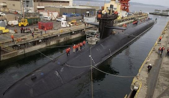 USS Michigan có thể phóng tất cả 154 tên lửa Tomahawk trang bị trên đó chỉ trong khoảng 6 phút