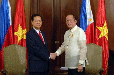 Philippines, Việt Nam kiên quyết bảo vệ chủ quyền Biển Đông