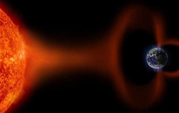 Bão mặt trời không thể gây ra hiện tượng Trái Đất chìm trong bóng tối