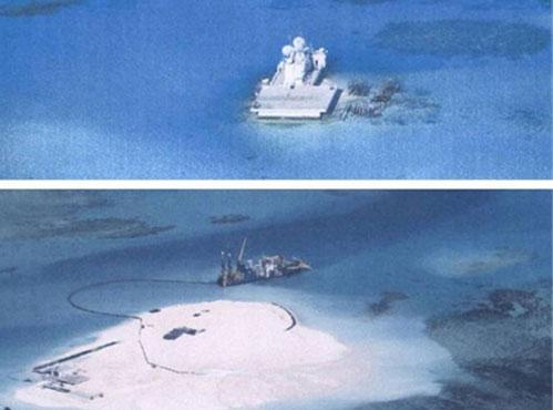 Tình hình biển đông hôm nay ngày 24/7: Trung Quốc ngang nhiên nạo vét kênh trái phép tại Hoàng Sa