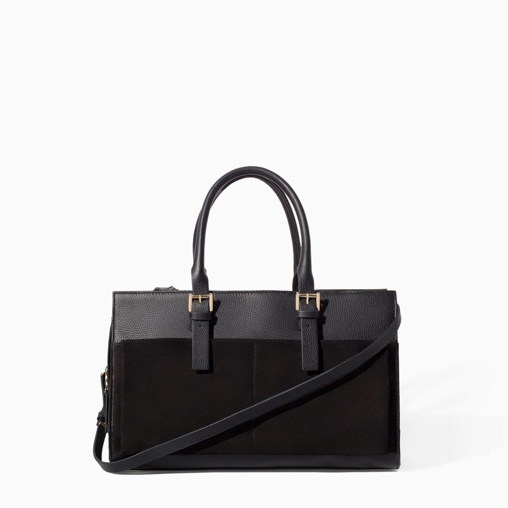 Túi xách có tông màu trầm phù hợp với nhiều kiểu trang phục